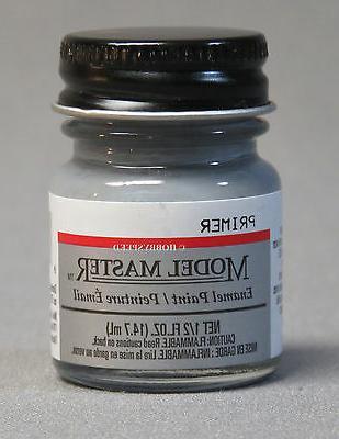 Model Master 2737 Gray Primer 1/2 oz Enamel Paint Bottle