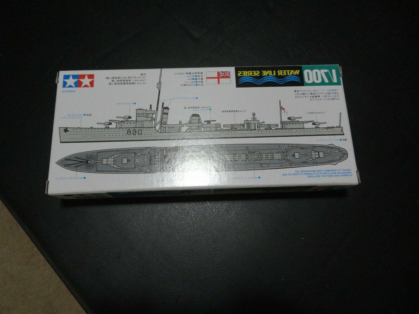 Tamiya 1/700 Model Kit Royal Destroyer Vampire