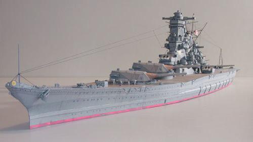 3D DIY Paper Model Kit 1/250 Scale WW2