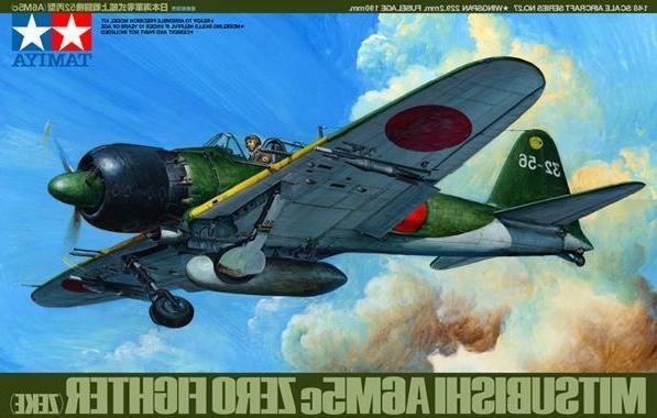61027 1/48 A6M5C Type 52 Zero Fighter TAMS3227 TAMIYA