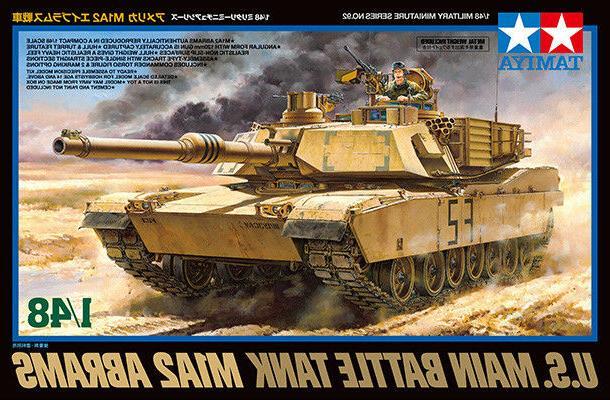 Tamiya 32592 1/48 U.S. MAIN BATTLE TANK M1A2 ABRAMS from Jap
