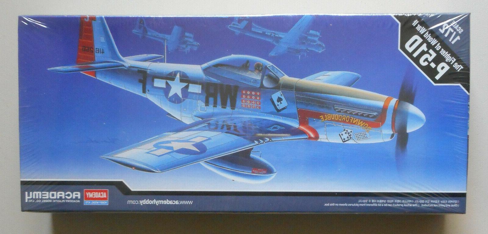NEW Academy 1/72 P-51D Mustang U.S.A. 12485