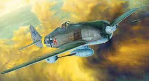 Revell 5271 1/48 Wulf Fw190 WWII Model