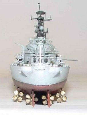 BB63 Battleship Model Kit