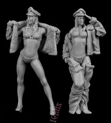 65 Resin Model Kit sexy Woman female 1/35 model