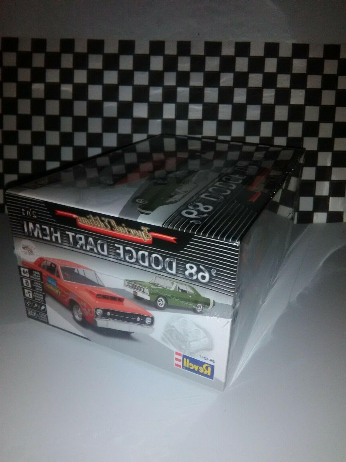 68 Dodge Revell model