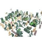 6cm Soldier Model Figure Kit 122pcs Military Simulation Kids