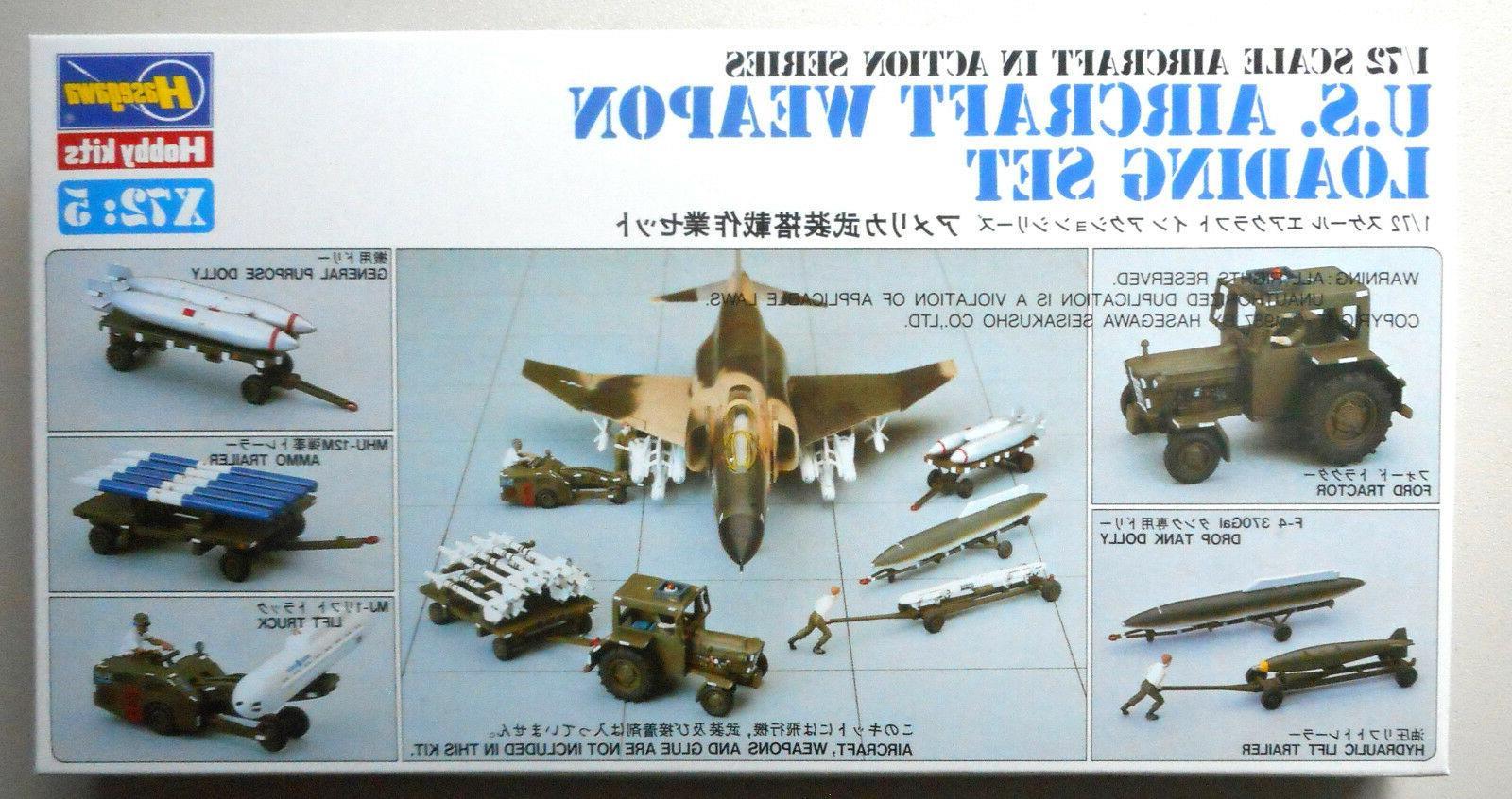 35007 1/72 U.S. Pilot/Ground Crew Set HSGS1877 HASAGAWA