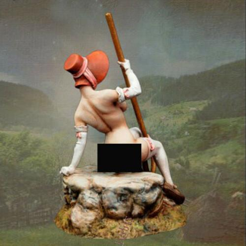 75 mm Resin Figure Model Mary A Unassembled MODEL