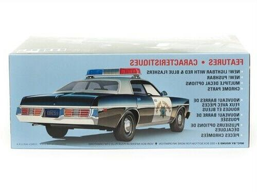 MPC Monaco California Highway Police model 1/25