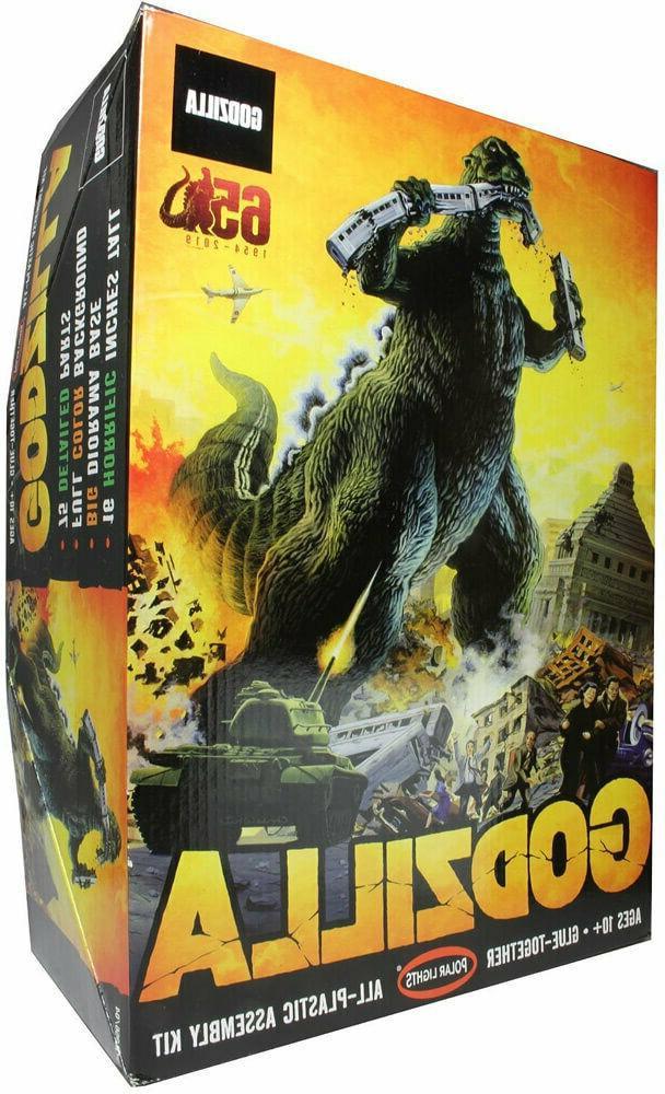 Polar Lights 956 Godzilla '65th Anniversary' 1/144 Scale Pla