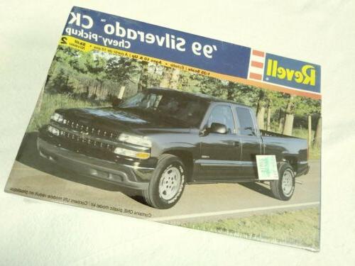 99 silverado ck chevy pickup model kit