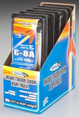 Estes 7957-1 A8-3 Flight Pack Model Rocket Motor