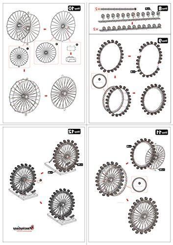 Fascinations London Eye Ferris Wheel Model