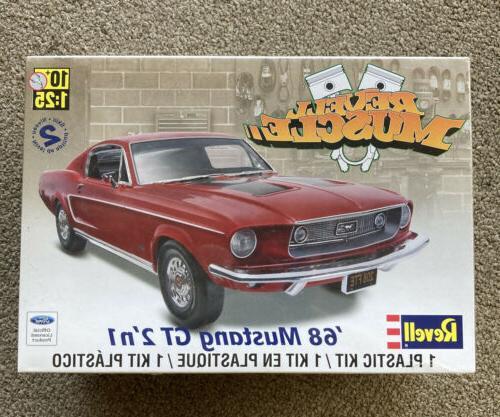 Revell 1:25 `68 Mustang GT 2 'N 1