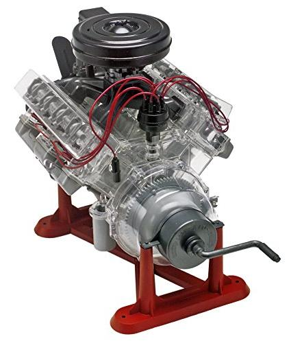 Revell 1/4 V-8 Engine Kit, 12-Inch