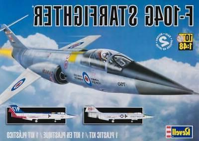 Revell F-104G Starfighter RCAF Plastic Airplane Model Buildi