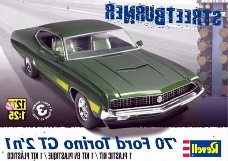 Revell/Monogram 1970 Ford Torino GT 2-in-1 Car Model Kit