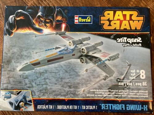 Revell X-Wing Fighter Plastic Spacecraft Model Building Kit