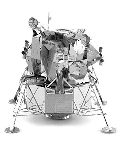 Set of 4 Earth Laser Models: - Apollo Lunar Apollo Module Mars Rover