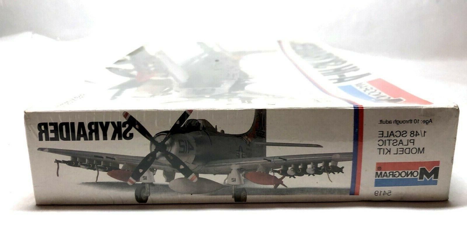 MONOGRAM A-1H SKYRAIDER 1:48 Kit SEALED