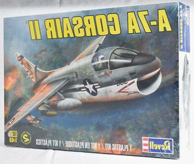 Revell A-7A Corsair II 1:48 Scale Plastic Airplane Model Pla