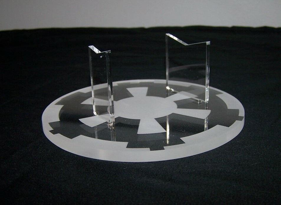 acrylic Revell ERTL Star Destroyer model kit Star Wars