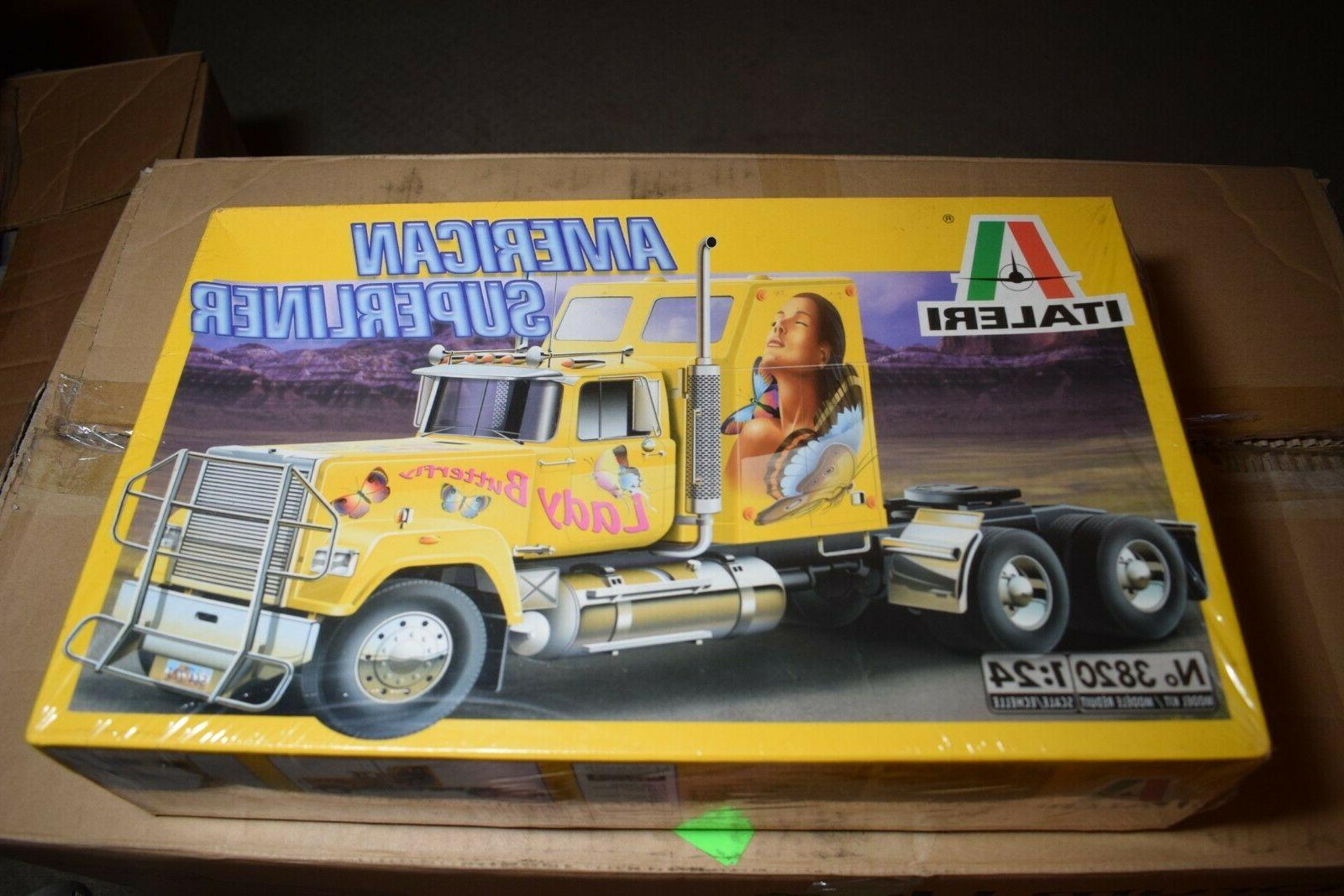 american superliner 3820 lady butterfly truck model