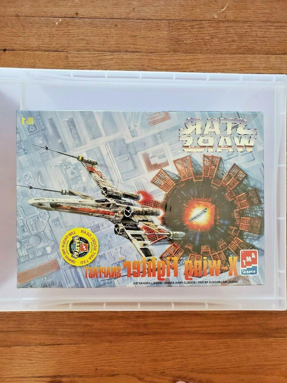 amt ertl star wars x wing fighter