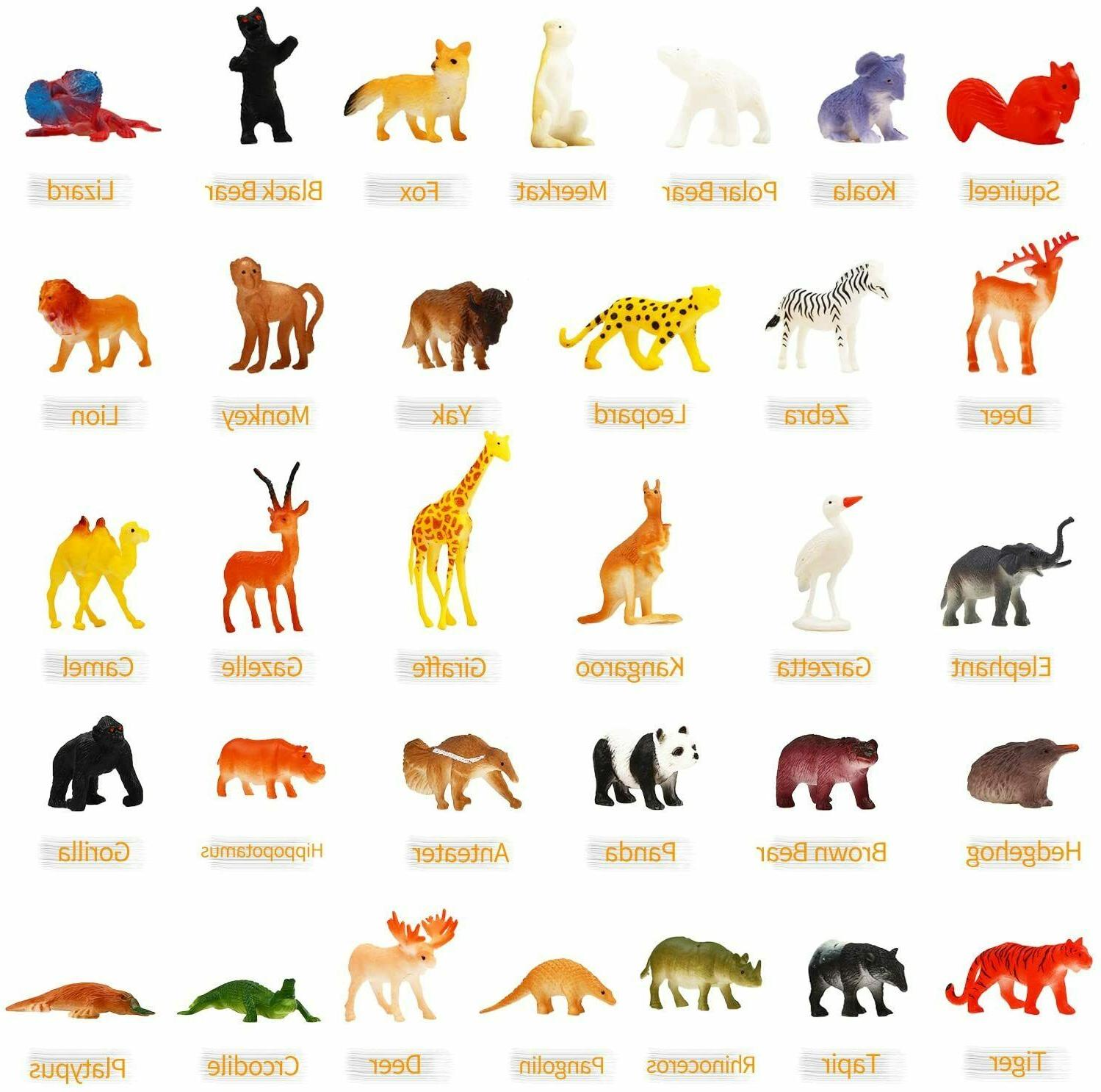 Animal Mini Models Realistic