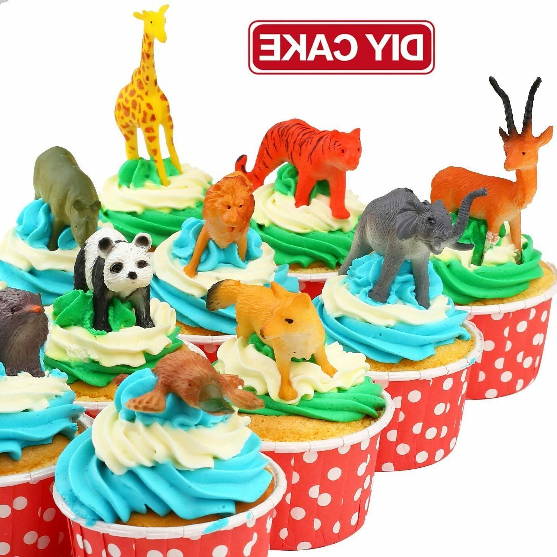 Animal Mini Wild Models Jungle Realistic