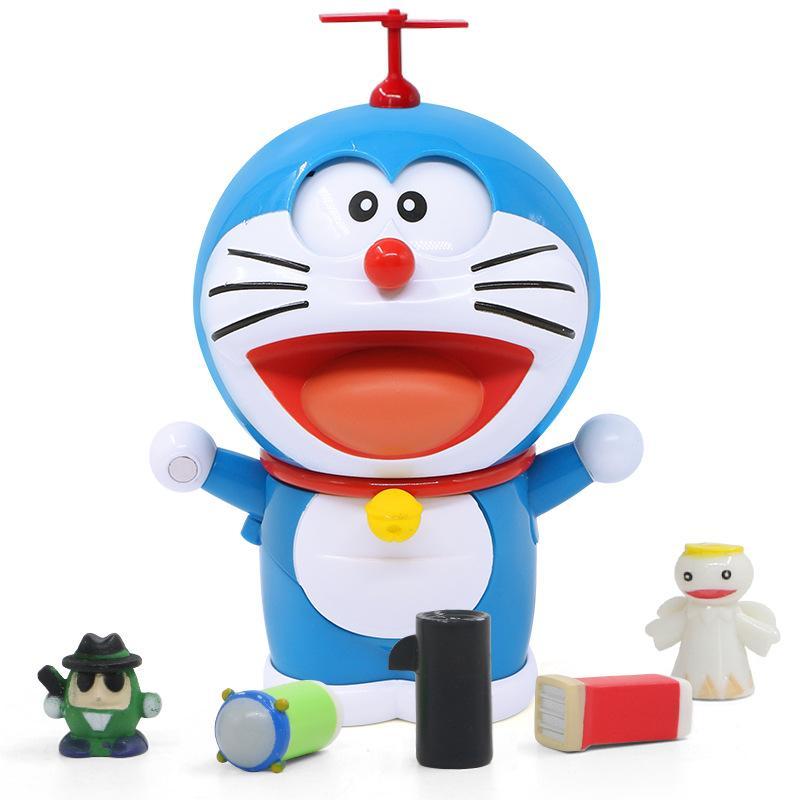 YouTube Anime Doraemons Robot Face/Eyes <font><b>Model</b></font> <font><b>Kits</b></font> Anime Figure Kids
