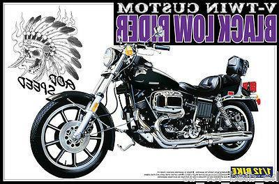 Aoshima Model Low-Rider Motorcycle 00064