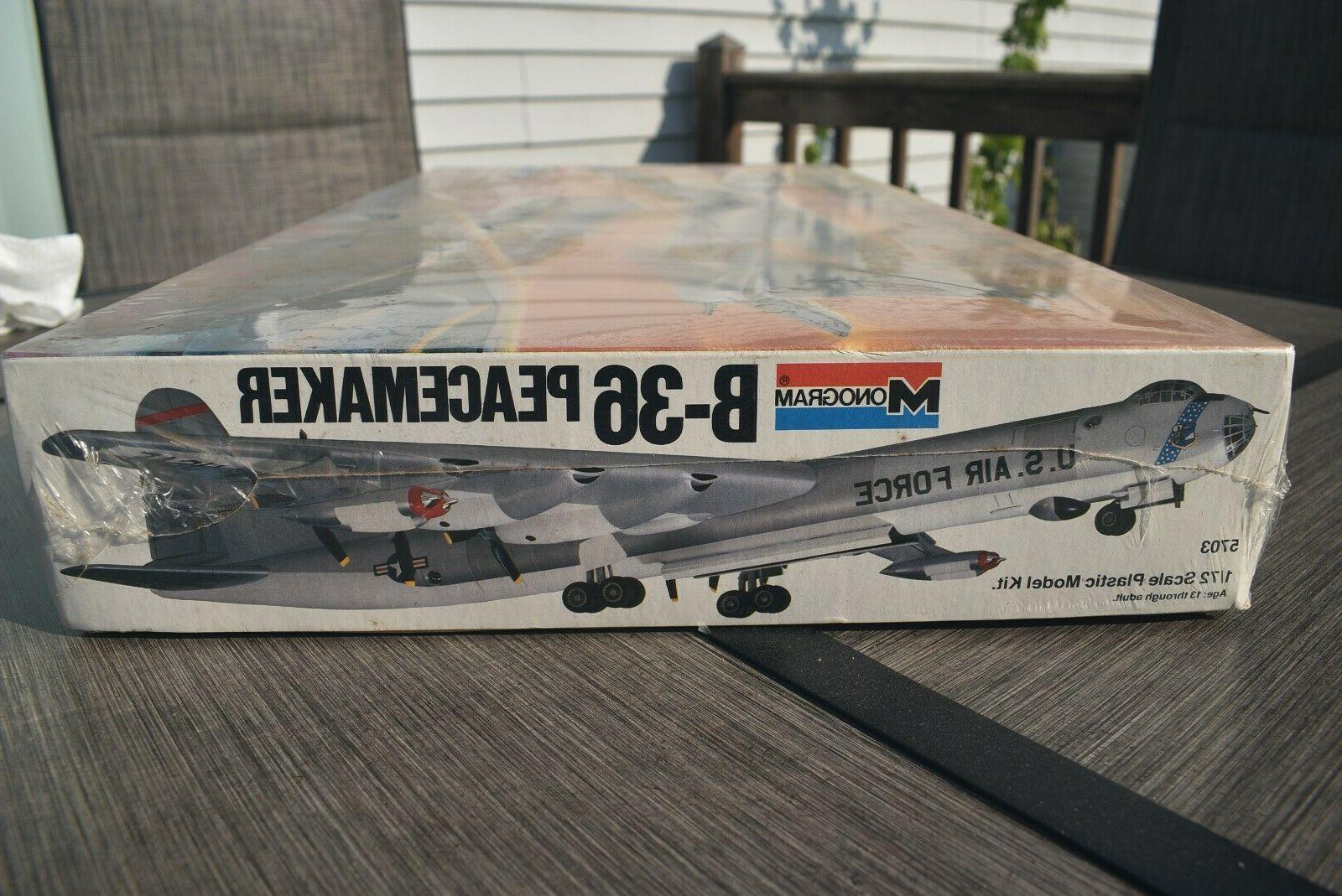 B-36 Peacemaker 1/72 Scale Model Sealed