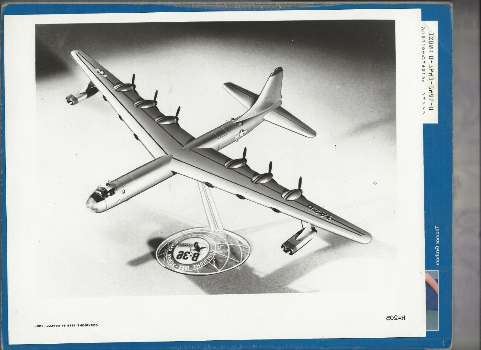 B-36 Peacemaker Model Kit with 1/184 Scale