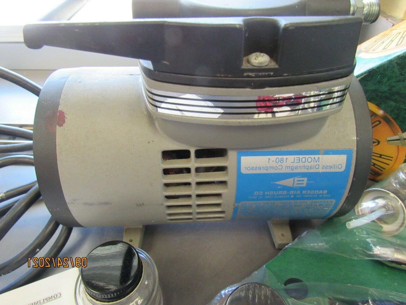 BADGER AIR 175-7 COMPRESSOR 180-1 (30833