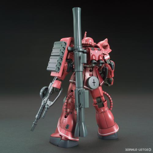Bandai The Origin MS-06S Char's Zaku Red 1/144 Model