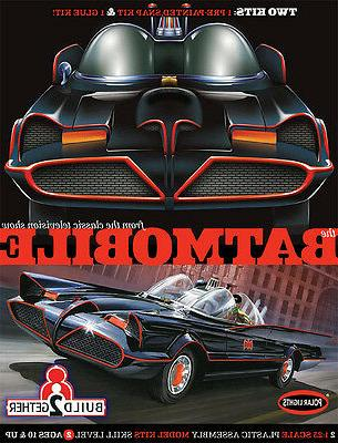 Batman 1966 TV Batmobile Snap Fit Model Kit