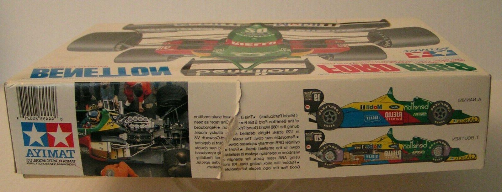 Benetton Tamiya 1/20