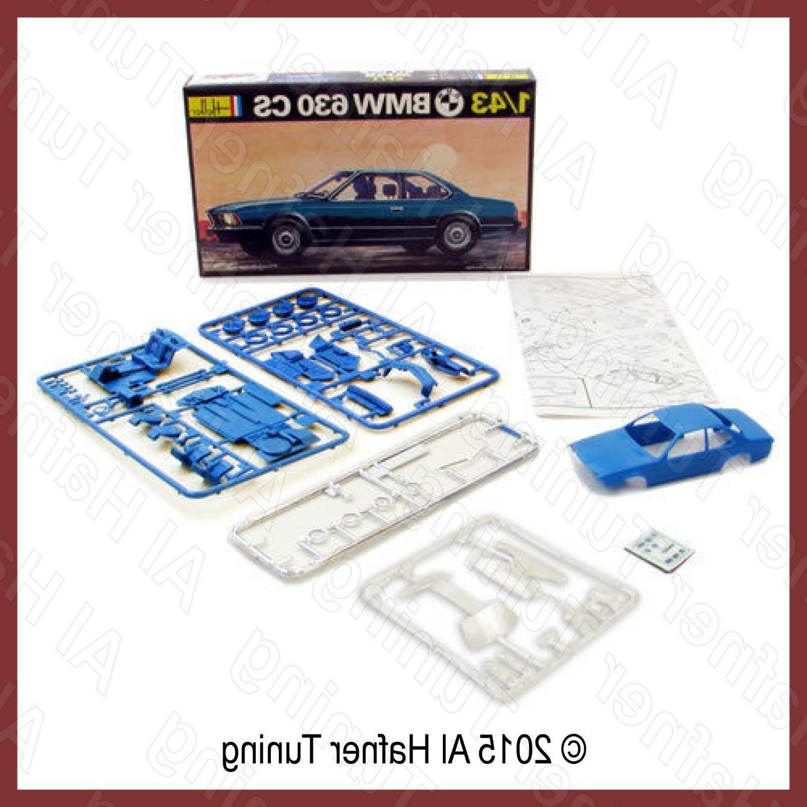 BMW 630cs, 633csi, 635csi model kit #166  1:43 Heller