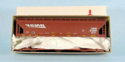 ACCURAIL BNSF 3-Bay Hopper 1/87 HO Scale NEW!