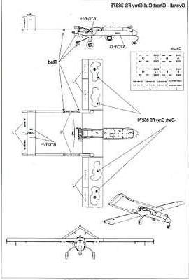 Brengun Models 1/72 SHADOW UAV Resin Photo