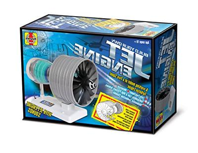 Build Your Own Jet Engine Fully Working Model Kit Adult Supe