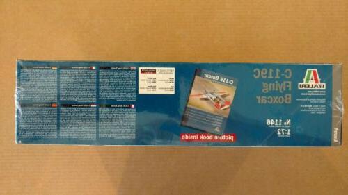 Italeri Flying Boxcar 1:72 Scale Plastic Model Kit