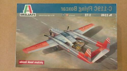 c 119c flying boxcar 1 72 scale