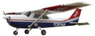 cessna 172 civil air patrol plastic model