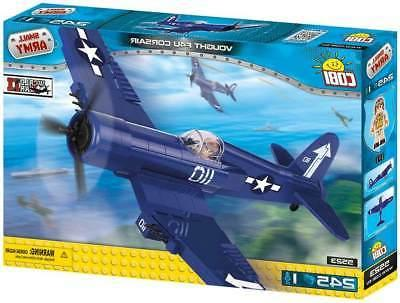 Cobi Airforce Vought F4U Corsair Airplane Name Brand Compati