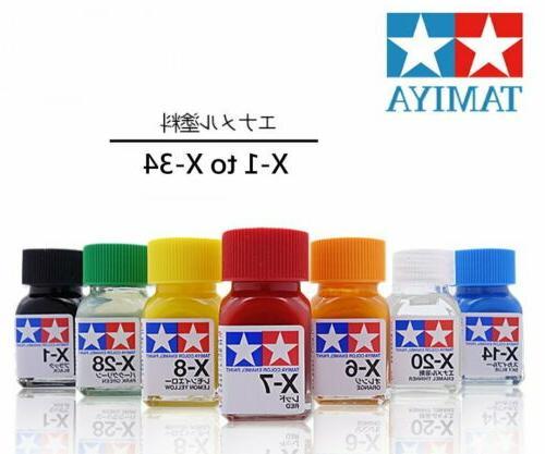 Tamiya Color Gloss 80001-80034 X-1 X-34