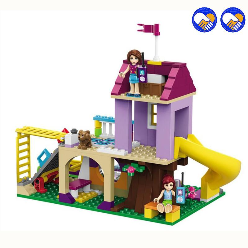 Compatible Friends Heartlake Playground Girl <font><b>Kits</b></font> Bricks