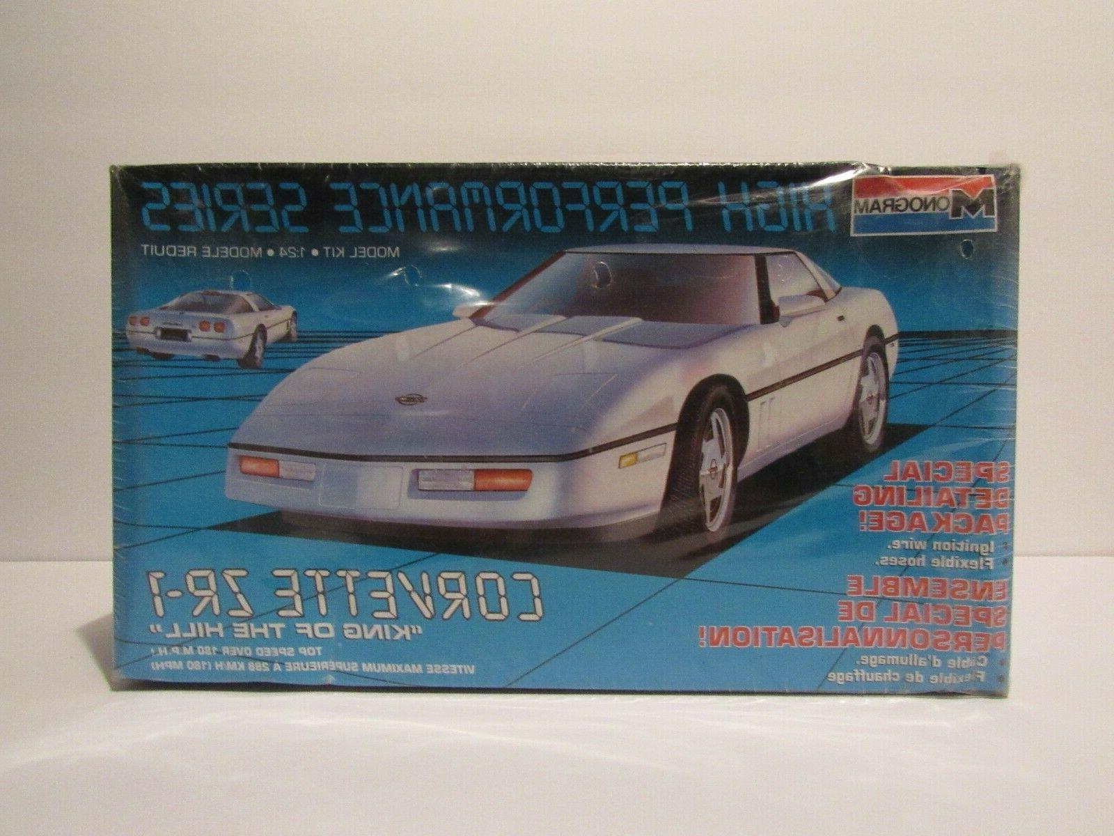 corvette zr1 model kit 1 24 scale